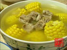 水果玉米排骨汤