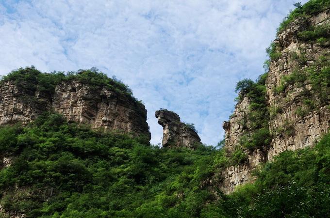 孤山寨|十渡孤山寨风景区--六渡孤山寨大峡谷,汇聚