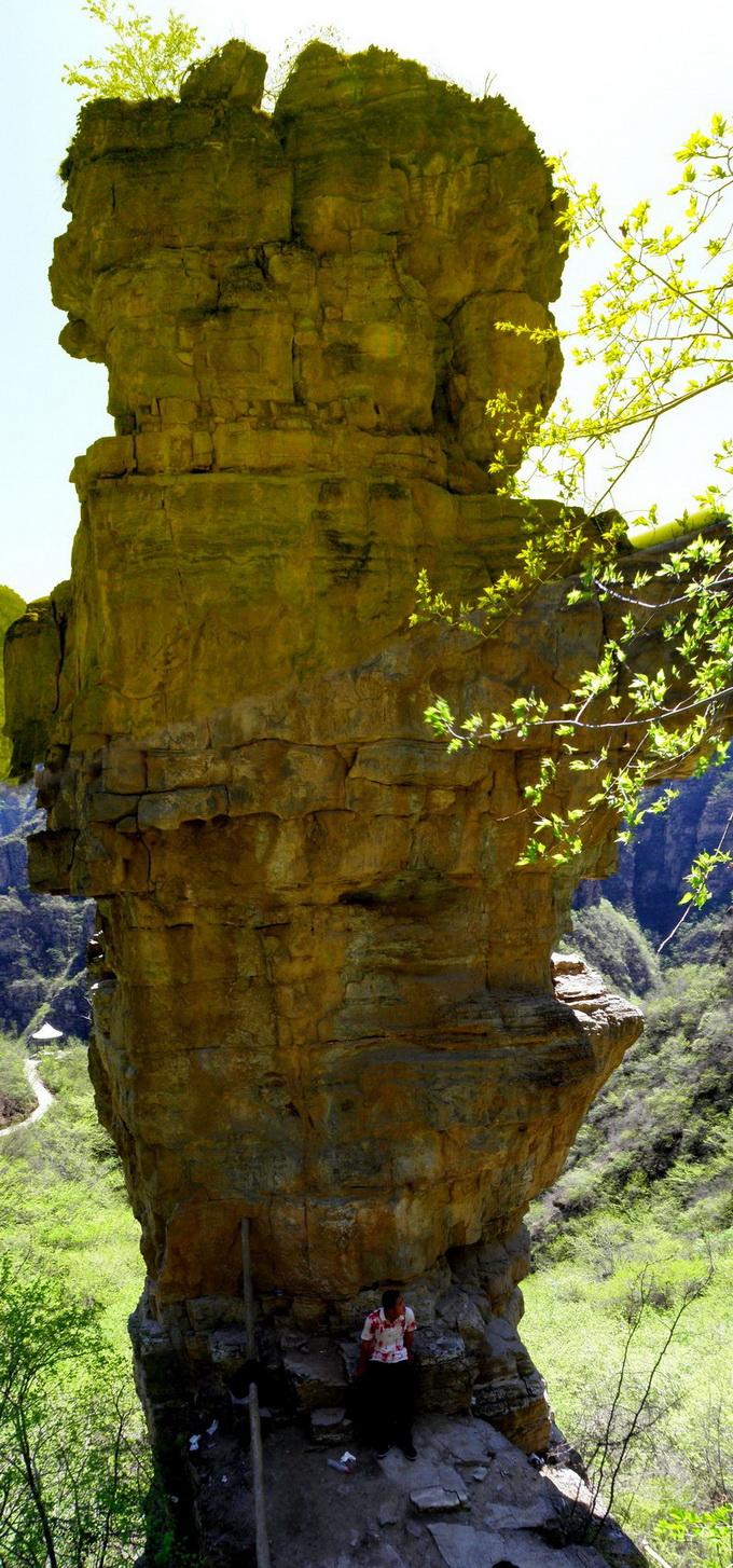 孤山寨 十渡孤山寨风景区--六渡孤山寨大峡谷,汇聚