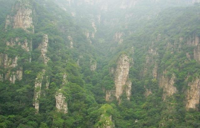 仙峰谷 五渡仙峰谷--畅游十渡仙峰风景区