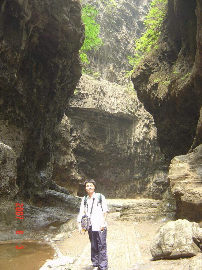 索南卓玛:2007年十渡风景区六游孤山寨和野三坡风景区百里峡之旅